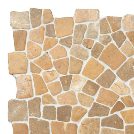 Mosaic Mustard marble 300x300mm