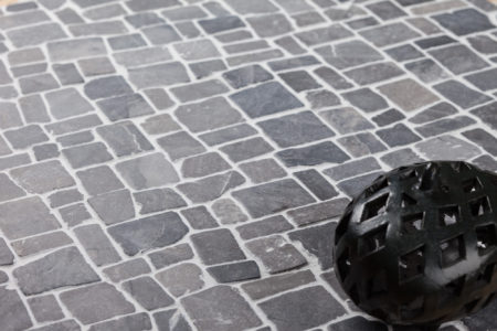 GREY ROMAN INTERLOCK 300x300mm