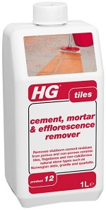 HG Tiles Cement, Mortar & Efflorescence remover 1L (prod 12)