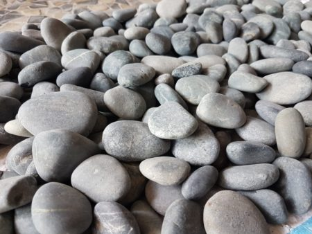 Gardenstone Black Pebble 30-50mm, 20kg