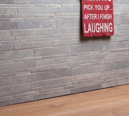 Legito Light Grey Wall Cladding, 300x300mm